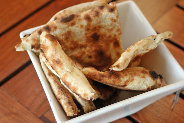 Lovely naan to go with the dishes