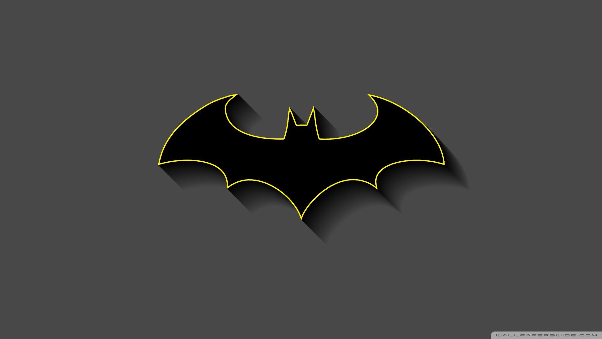 Batman Minimalist Uhd Desktop Wallpaper For 4k Ultra Hd Tv