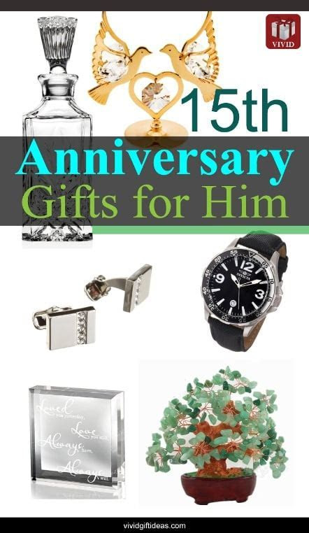 15th Wedding Anniversary Gift Ideas for Men   VIVID'S