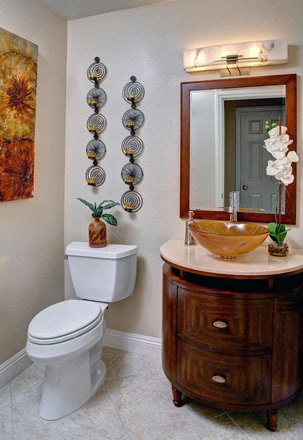 19 Eclectic Bathroom Wall Decor Ideas | Interior God