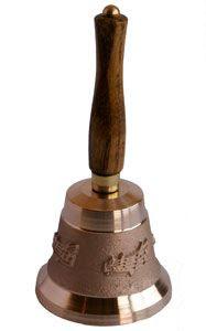 Cloche en bronze N°3NM - manche en bois