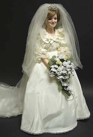Princess Diana Bride doll. This is my favorite doll I have