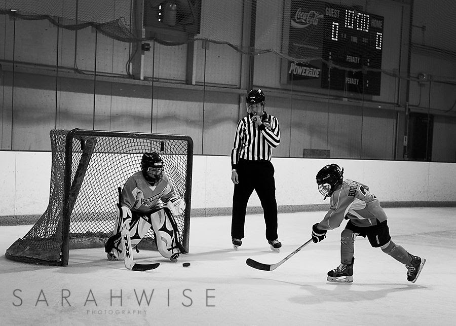 10.4, My son's first time playing goalie -- here he is in the shootout they have at the end of every game.  He did great and said he loved it!