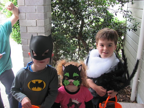Little Trick and Treaters.