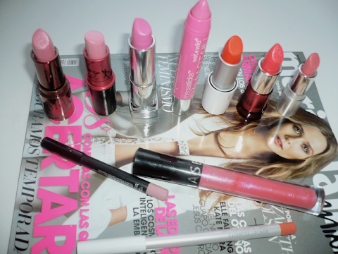 Favourite Summer Lipsticks