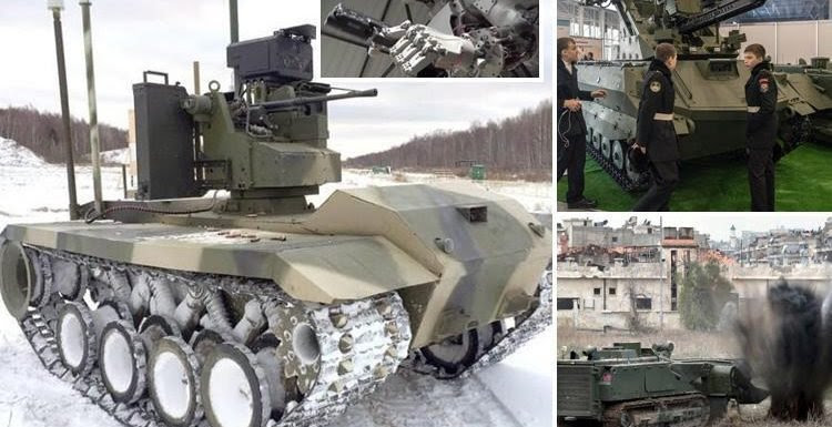 Russia reveals terrifying state-of-the art robot army ready to rule the battlefield