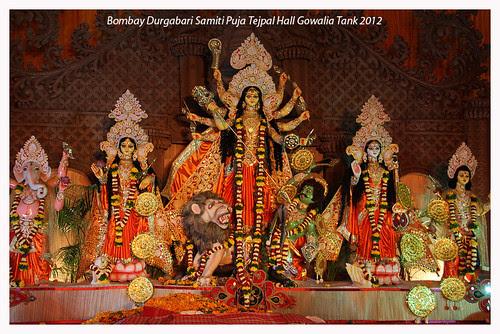 Thank You Goddess Durga For Allowing Me To Shoot Bombay Durgabari Samiti Puja 2012 by firoze shakir photographerno1