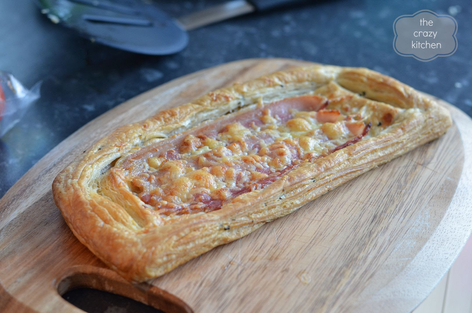 bacon & cheese tart