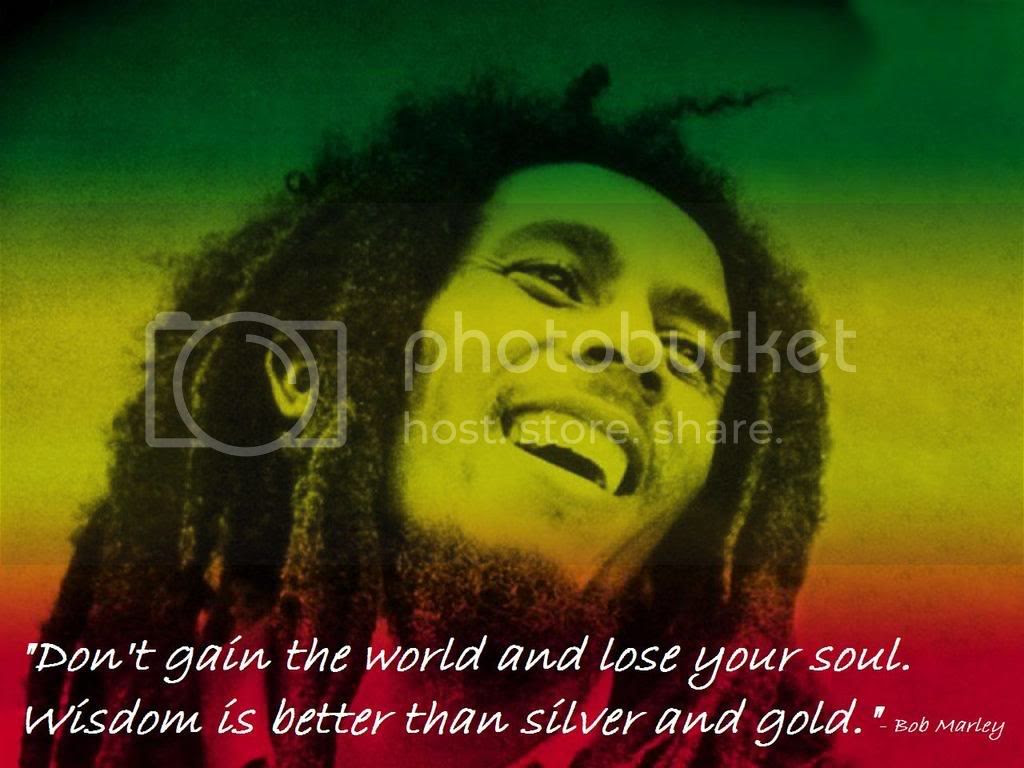 Bob Marley Quote Pictures, Images and Photos