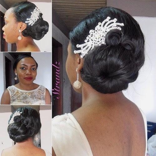 50 Superb Black Wedding Hairstyles - Page 40 - Foliver blog
