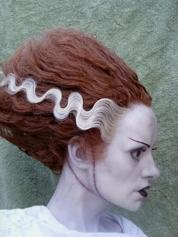 Wedding Theme Bride Of Frankenstein Bust 2546121 Weddbook