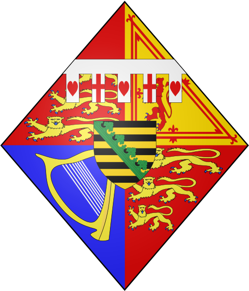 Coat of arms of Maud of Wales