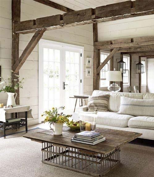 Design De Maison Minimaliste: Maison Style Rustique Moderne