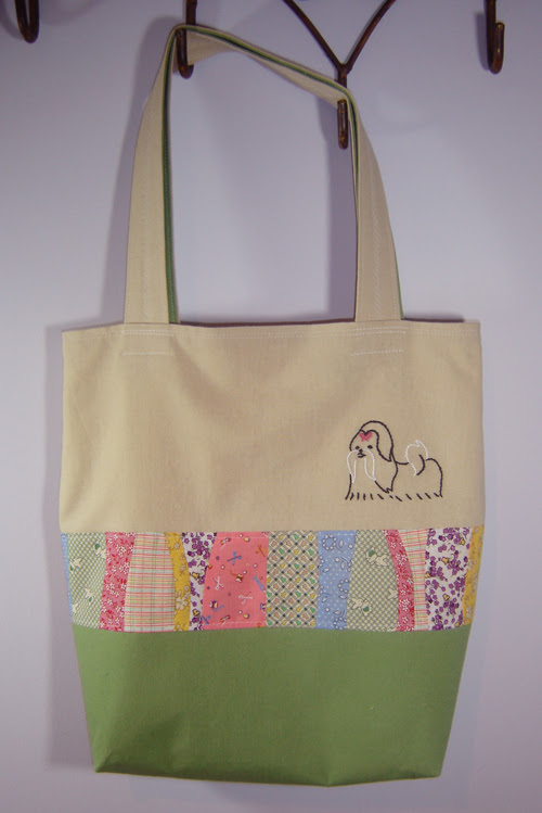 """gift tote """"the steffie"""" named after my niece's dog"""