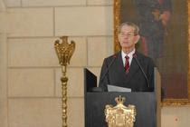 Regele Mihai, la Palatul Elisabeta