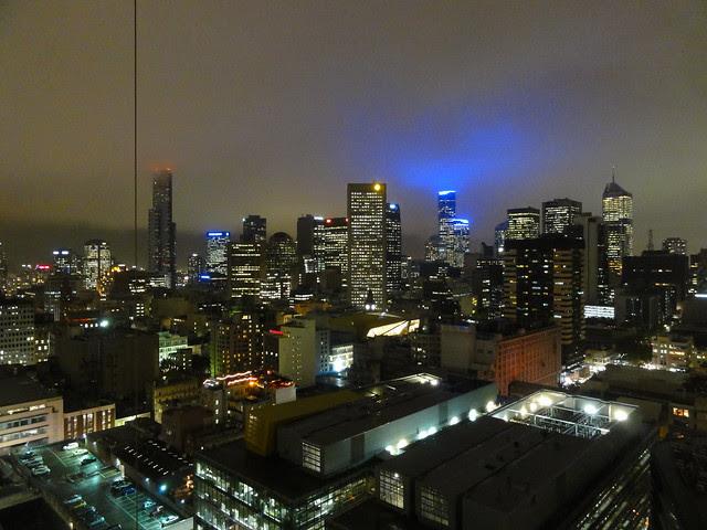 Uitzicht Melbourne centrum