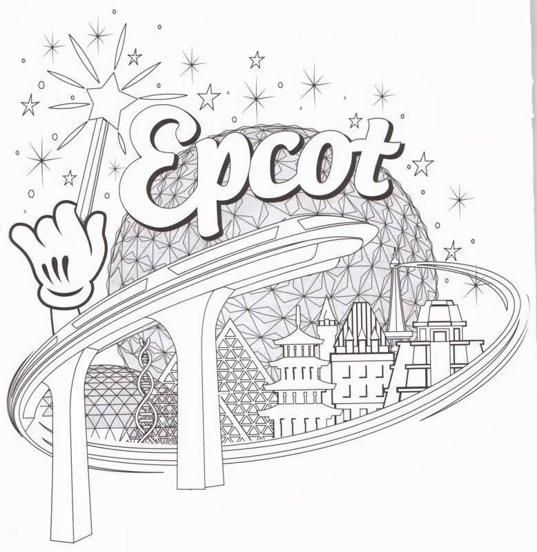 62 Coloring Pages Of Walt Disney World For Free