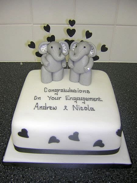 Anniversary & Engagement Cakes   Cake Toppers Redcar
