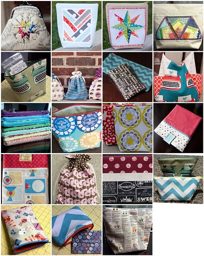 Bags and pouches mosaic