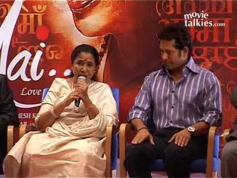 Sachin Tendulkar Launches The Music Of Asha Bhosle's Acting Debut 'Mai'