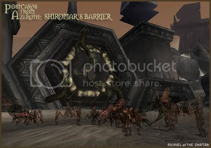 Postcards of Azeroth: Shiromar's Barrier
