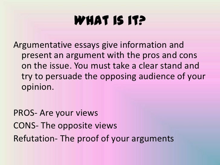 how to write an essay ppt