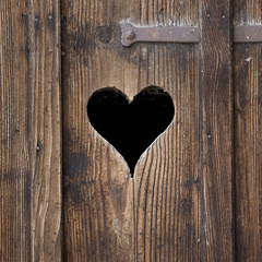 Heart in Door