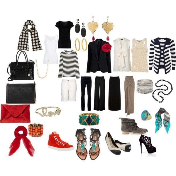 """Perfect Travel Wardrobe"" by splenderosa on Polyvore"