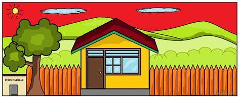 740 Koleksi Gambar Rumah Dan Pemandangan Untuk Anak Sd HD Terbaru