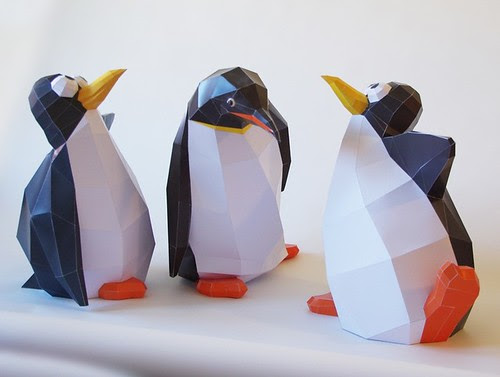 paper-penguins