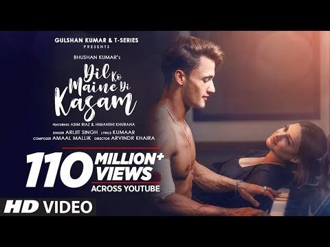 Arijit Singh - DIL KO MAINE DI KASAM Lyrics Feat. Himanshi Khurana