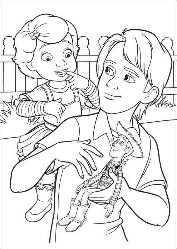 Kids-n-fun.com | 34 coloring pages of Toy Story 3