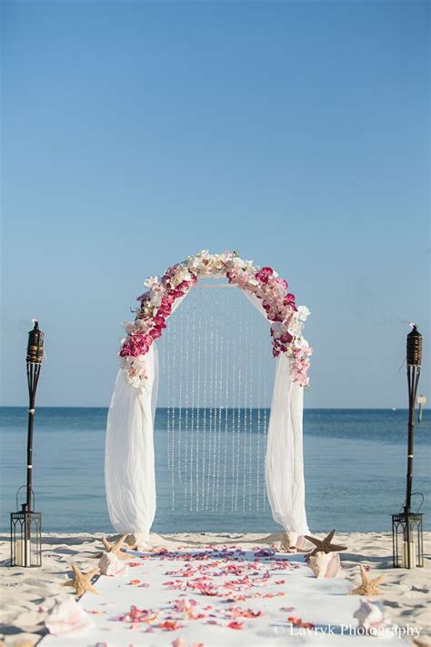 Smathers Beach Wedding, Ceremony by Say Yes in Key West