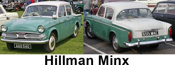 Hillman Minx Series IIIC