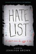 Title: Hate List, Author: Jennifer Brown