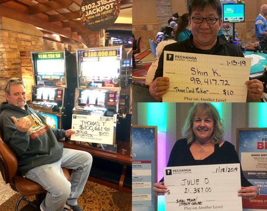 Casino slot jackpot winners
