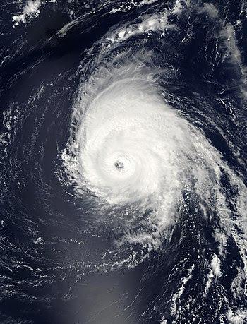Hurricane Helene 18 sept 2006