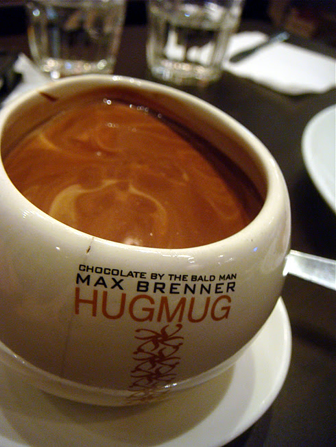 Belgium Chocolate on a Hug Mug