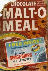 Chocolate Malt-O Meal box