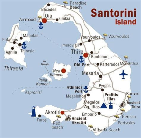 25  Best Ideas about Map Of Santorini on Pinterest   Map
