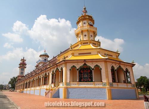 back of Tay Ninh Holy See