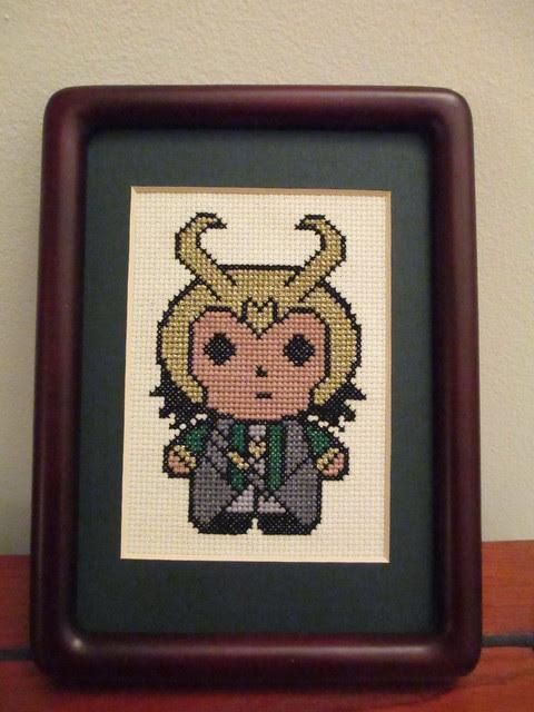 Loki Cross-stitch