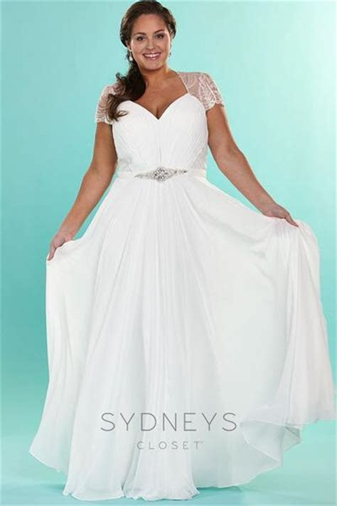 Plus Size Lana Wedding Dress, [product color]   Sydney's