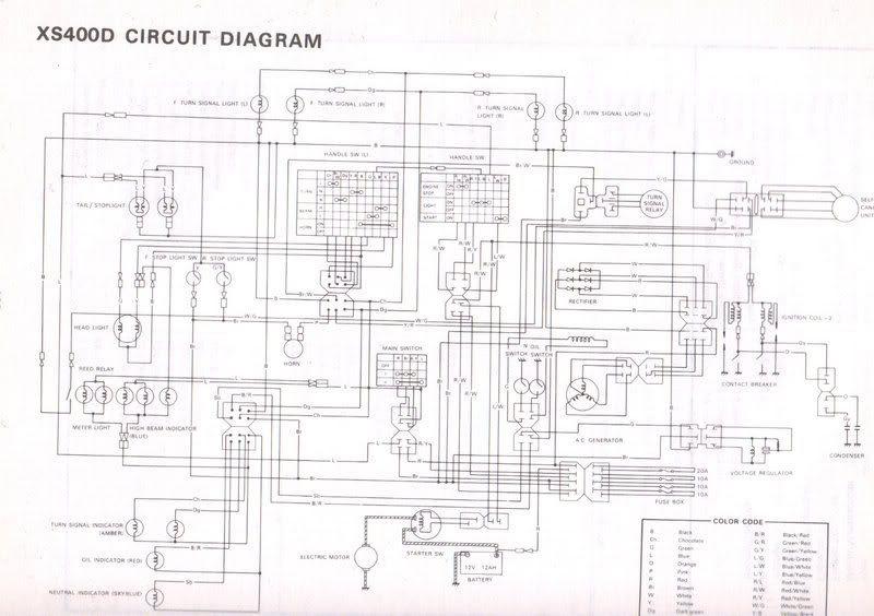 1982 Diagram Yamaha Xs400rwiring Wiring Diagrams Arena B Arena B Miglioribanche It