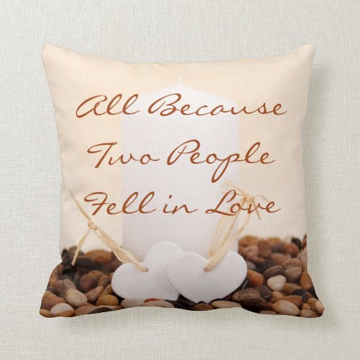 Love Quote American MoJo Pillow from Zazzle.
