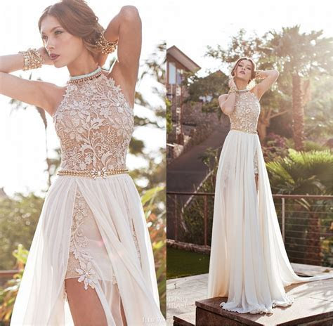 2017 Long Popular High/Low Wedding Dresses Lace Wedding