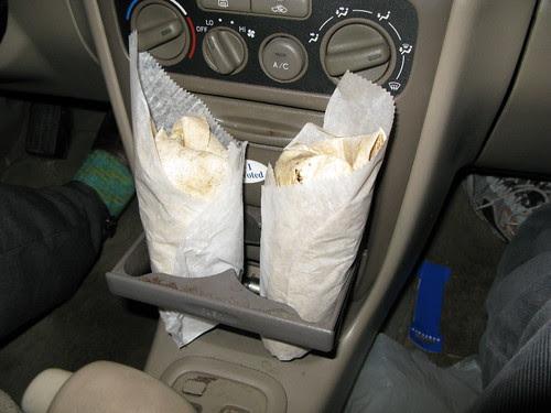 Toyota's built in falafel holders