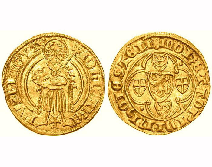 5th-century gold coins via Saharadesertfox at Wikimedia Commons