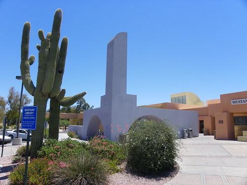 Outside Mustang Library, Arizona