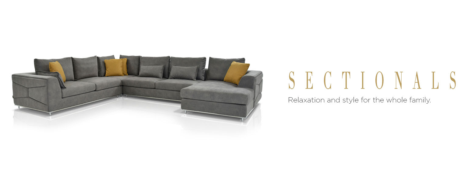 Living Rooms - Sectional Sofas | El Dorado Furniture